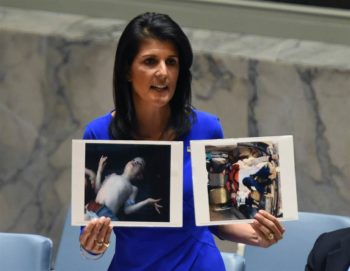 Ambassador Nikki Haley at UNSC on the Chemical Weapons Attacks in Idlib, Syria.