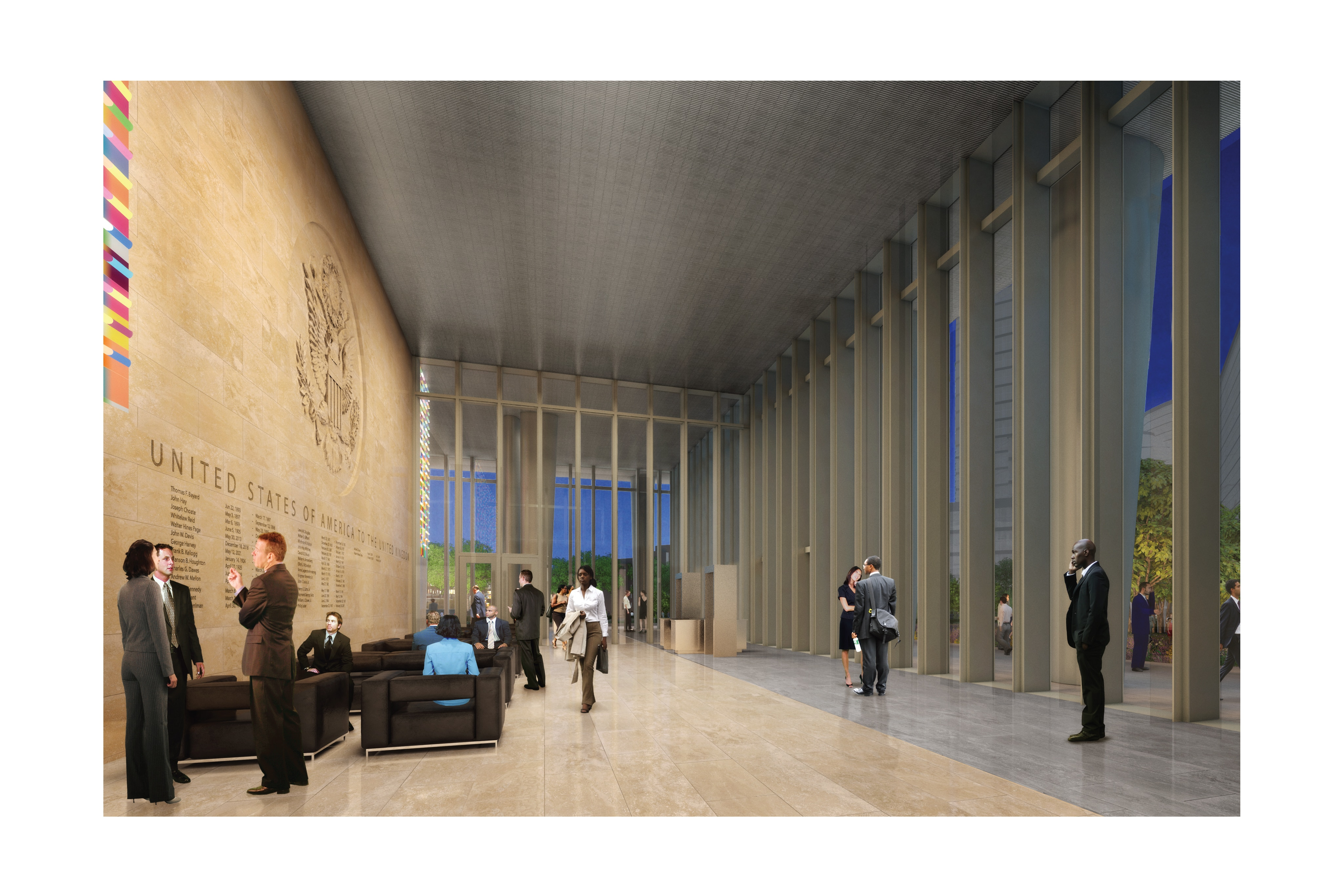 High resolution images of the new us embassy london for Consul high availability
