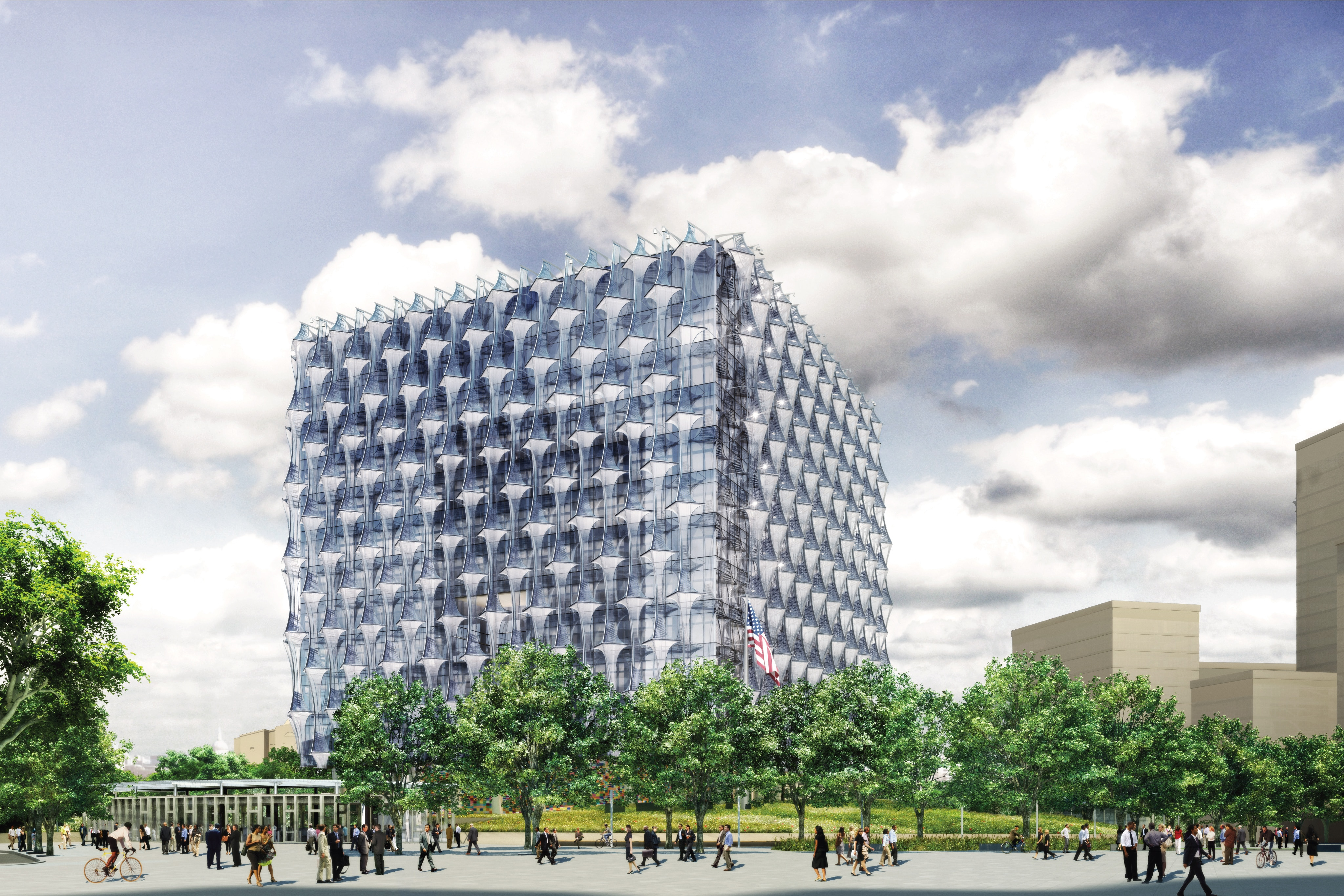 High Resolution Images Of The New US Embassy London - Us embassy london map