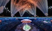Fireworks burst over Maracanã Stadium during the opening ceremony of the 2016 Summer Olympics in Rio de Janeiro, Brazil, on August 5. (AP Images)