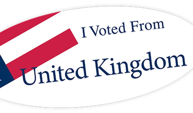 I have voted from the UK