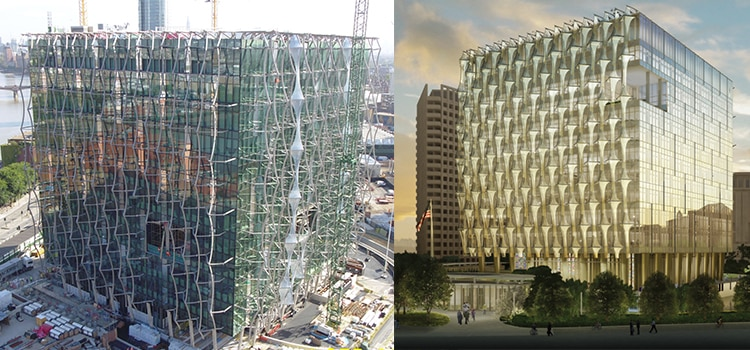 About our new u s embassy in nine elms london uk for Consul building