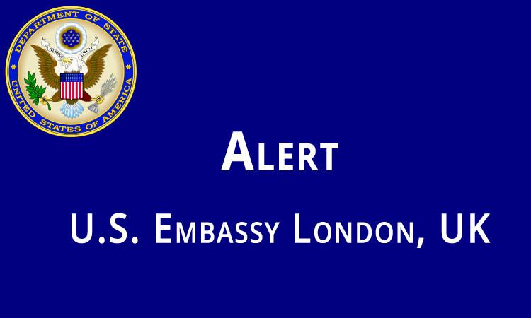 U.S. Embassy Alert