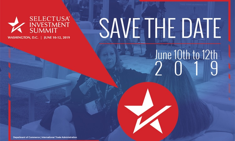SelectUSA 2019 - Save the Date