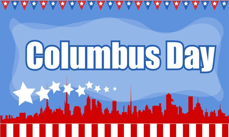 Banner for US Columbus Day