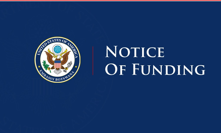 Notice of Funding Opportunity